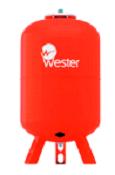 Расширительный бак на систему отопления Wester WRV 500 (красный)