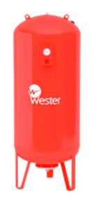 Расширительный бак на систему отопления Wester WRV 2000 (красный)