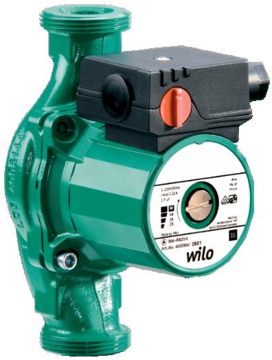 Циркуляционные насосы Wilo STAR-RS 30/8
